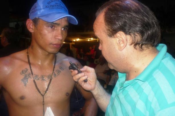 """FOTO: GRACIELA HERRERO: """"LA FURIA"""" RAMÍREZ, Y UNA CONFESIÓN ANTE www.ganchoycross.com.ar"""
